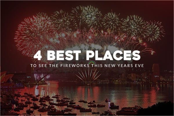 4 Amazing Places in Sydney to See the Fireworks this New Years Eve
