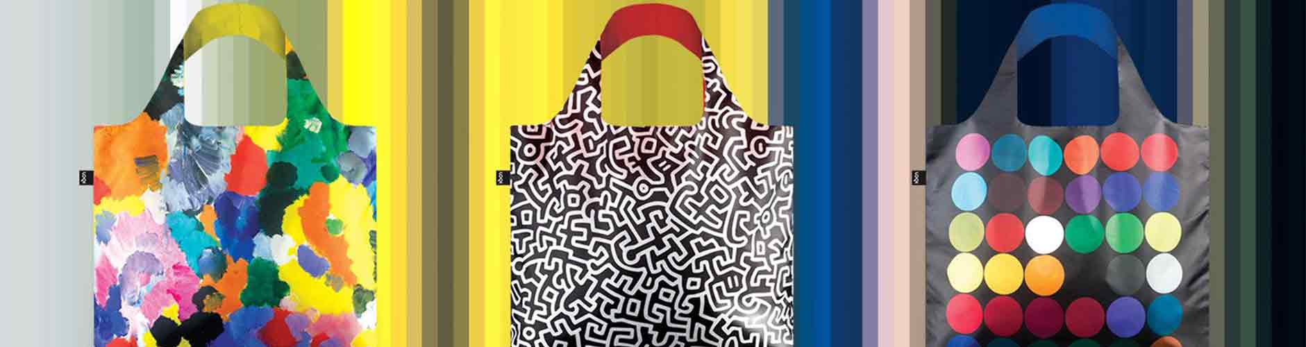 Shop LOQI Bags Reusable Shopping Bags Online at Benny's Boardroom