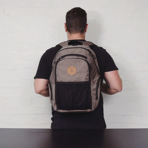 Channel Islands Bare Necessity Surf Backpack Review - Wearing | Benny's Boardroom