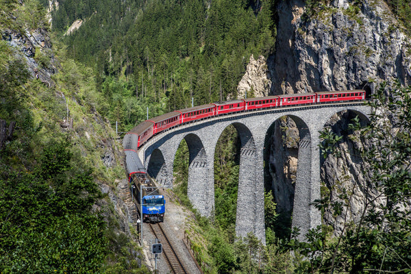 Rhaetian Railway, Switzerland
