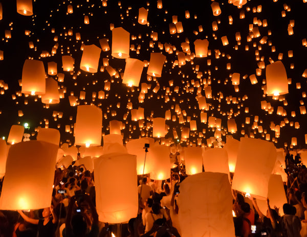 The Festival of Lights in Thailand
