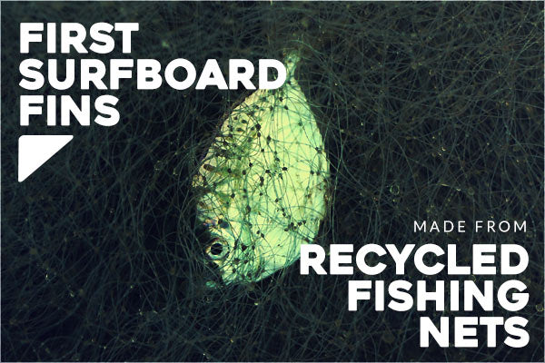 Futures Fins Alpha's are the First Surfboard Fins Made from Recycled Fishing Nets | Benny's Boardroom