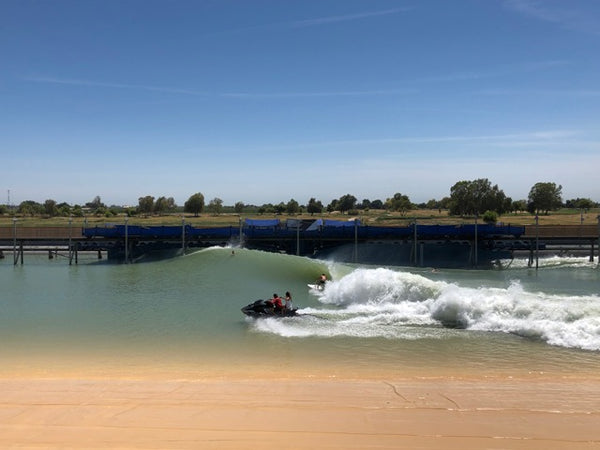 A Day at Kelly Slater's Surf Ranch - Kelly Slater In the Barrel | Benny's Boardroom