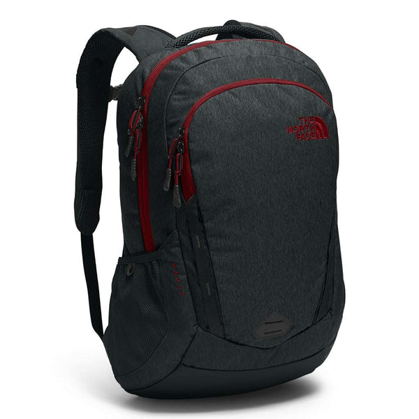 Buy THE NORTH FACE VAULT 28L BACKPACK - ASPHALT HEATHER GREY/CARDINAL RED | Benny's Boardroom