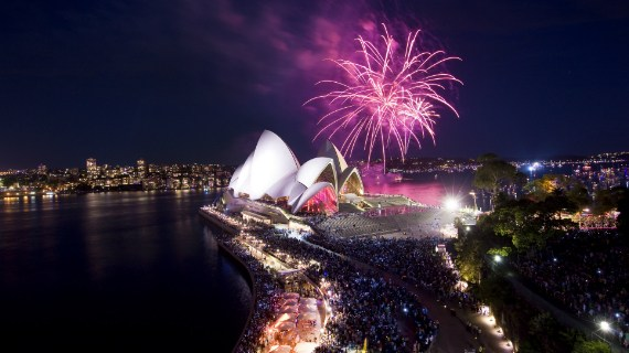Four Amazing Places to See the Fireworks this New Years Eve