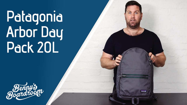NEW 2018 Patagonia Arbor Day Pack 20L Backpack Review | Benny's Boardroom