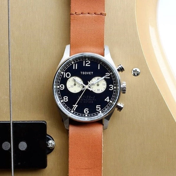 Shop TSOVET SVT-DE40 Chronograph Classic Mens Watch | Benny's Boardroom