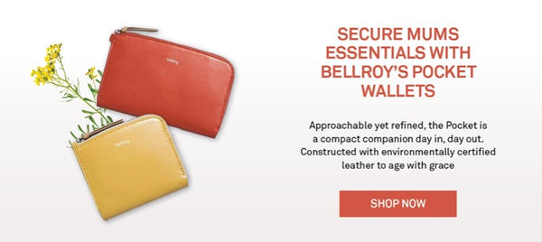 Shop Bellroy Pocket Women's Wallets Online | Benny's Boardroom