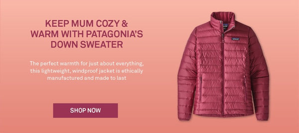 Shop Patagonia Women's Down Sweater Jacket in Star Pink | Benny's Boardroom