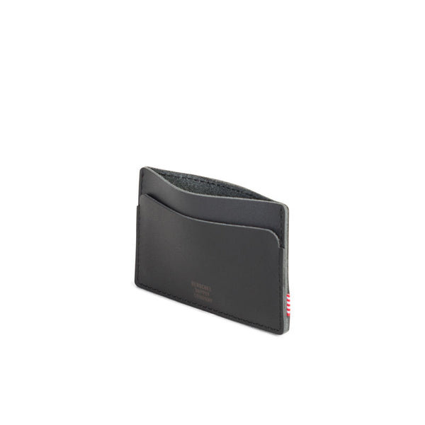 Buy Herschel Felix Wallet - Black Leather/Black | Benny's Boardroom