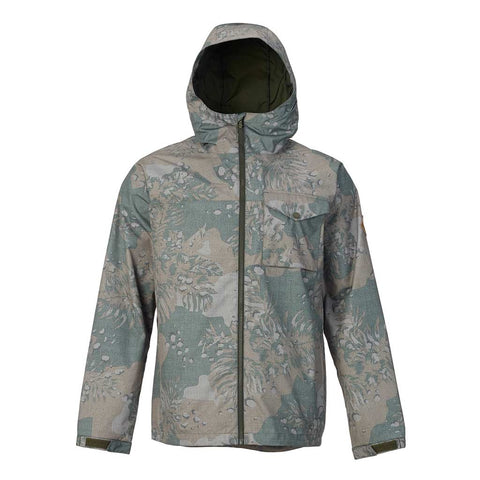 Shop Burton Men's Portal Jacket - Forest Night Hawaiian | Benny's Boardroom