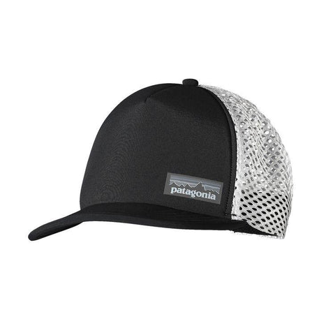 Shop Patagonia Duckbill Trucker Hat - Black | Benny's Boardroom
