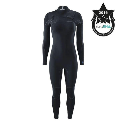 Shop Patagonia Womens R1 Yulex 3/2.5mm Front Zip Full Wetsuit - Black | Benny's Boardroom