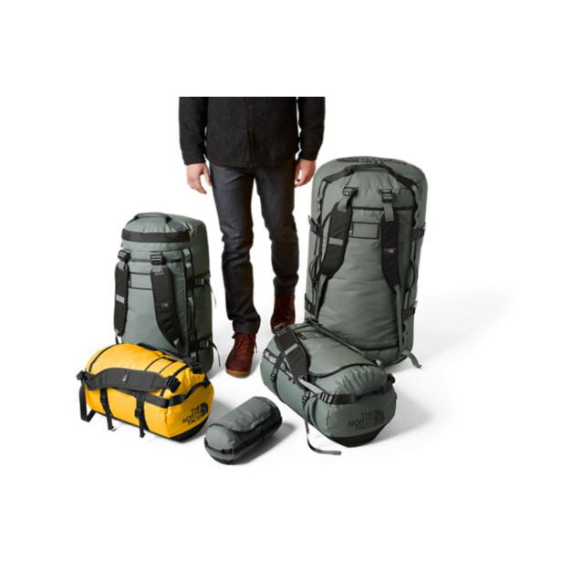 The North Face Base Camp Duffel Bag 50L (S) - Summit Gold/TNF Black
