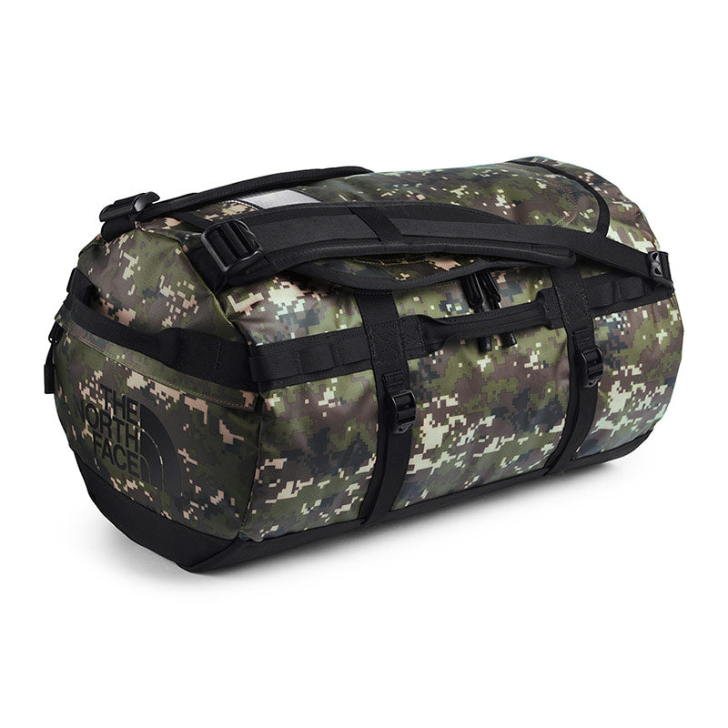 Buy The North Face Base Camp Duffel Bag 50L (S) - Burnt Olive Green Digi Camo/TNF Black Online Australia | Benny's Boardroom