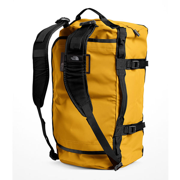 Buy The North Face Base Camp Duffel Bag 50L (S) - Summit Gold/TNF Black Shoulder Straps | Benny's Boardroom