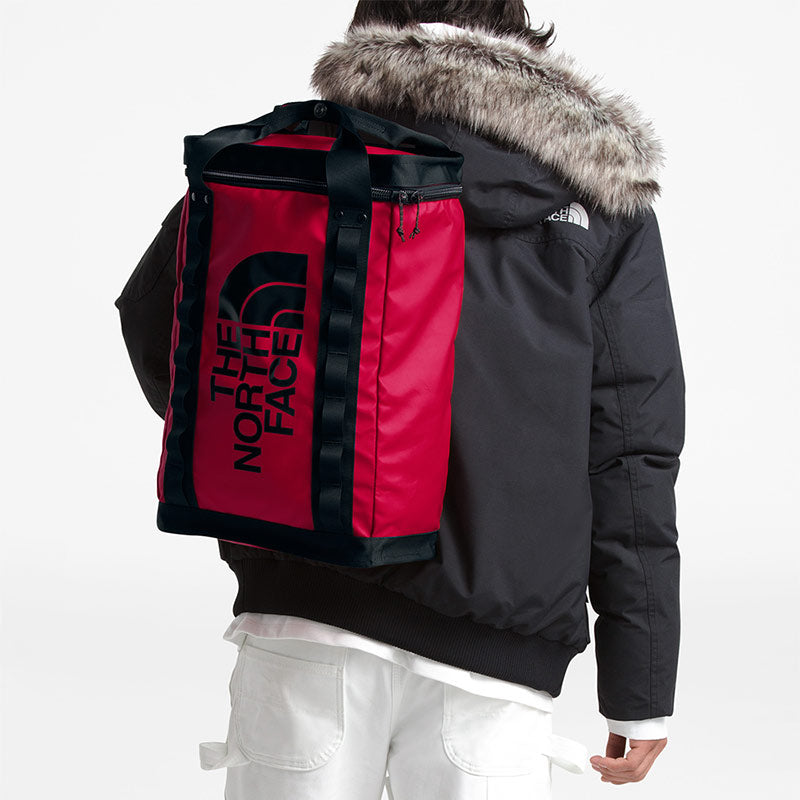 Buy The North Face Explore Fusebox (L) 26L Backpack - TNF Red/Black Lifestyle | Benny's Boardroom