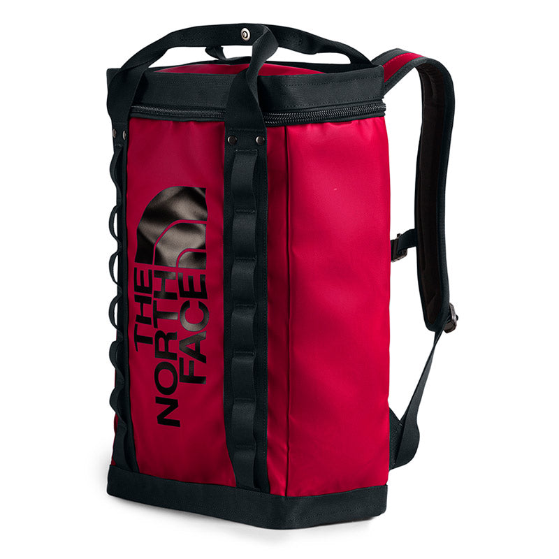 Buy The North Face Explore Fusebox (L) 26L Backpack - TNF Red/Black Front | Benny's Boardroom