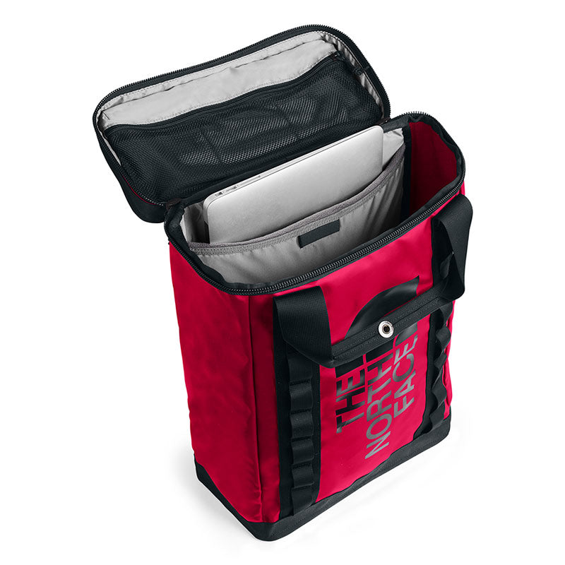 Buy The North Face Explore Fusebox (L) 26L Backpack - TNF Red/Black Open Main Compartment | Benny's Boardroom