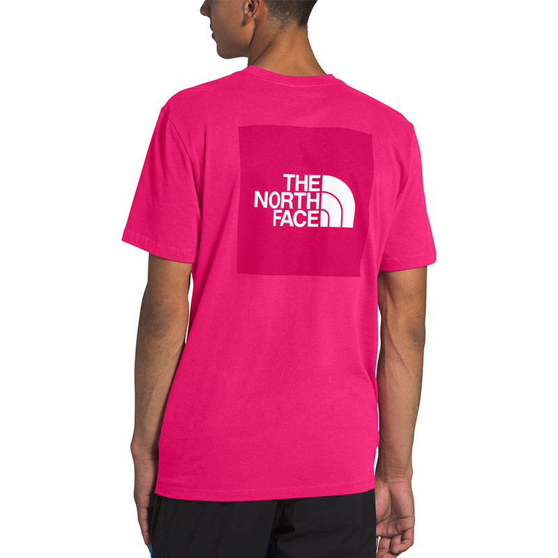 Shop The North Face Men's Red Box Tee Shirt - Mr Pink Online Australia | Benny's Boardroom
