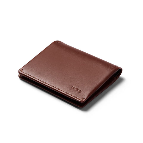 Buy Bellroy Slim Sleeve Leather Wallet Online - Cocoa Java | Benny's Boardroom