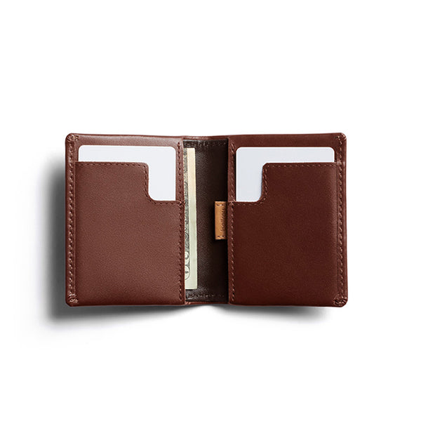 Shop Bellroy Slim Sleeve Leather Wallet Online - Cocoa Java | Benny's Boardroom