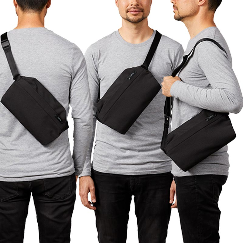 Carry the Bellroy Sling Bag Three Ways | Benny's Boardroom