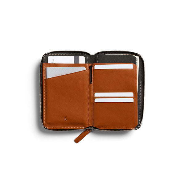 Shop Bellroy Travel Folio - Caramel Online | Benny's Boardroom