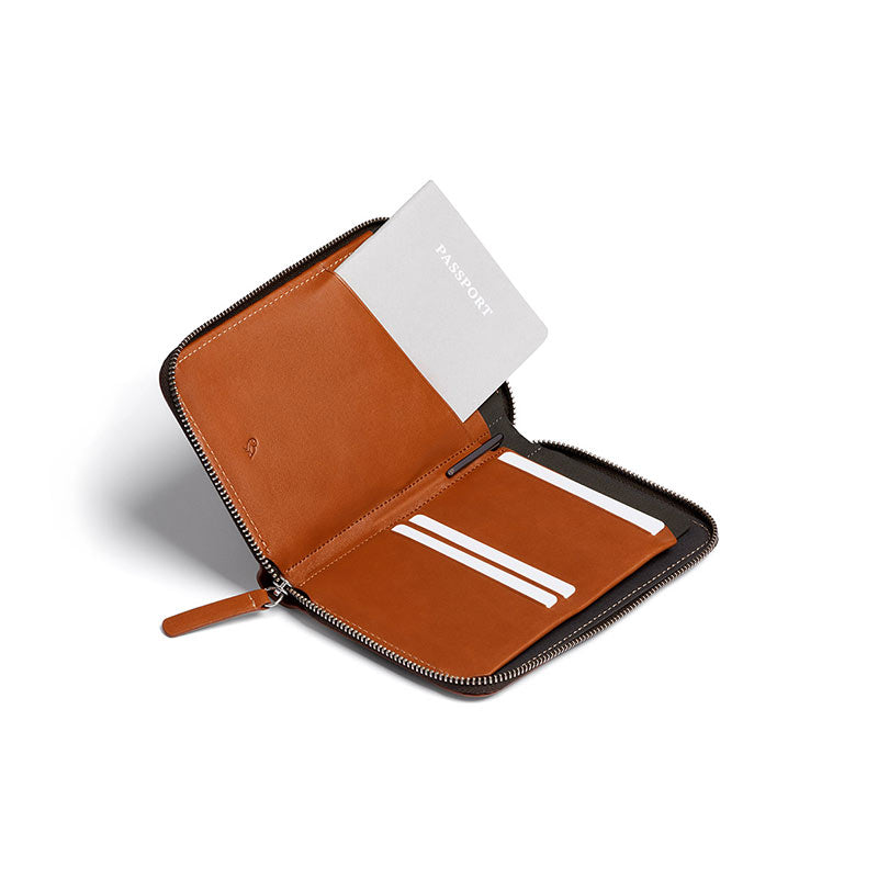 Buy Online Bellroy Travel Folio - Caramel | Benny's Boardroom