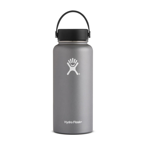 Buy Hydro Flask 950ml Wide Mouth Reusable Water Bottle - Graphite Online | Benny's Boardroom