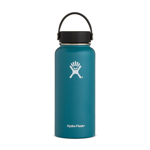Buy Hydro Flask 950ml Wide Mouth Reusable Water Bottle Australia - Jade | Benny's Boardroom