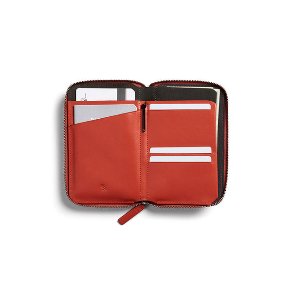 Shop Bellroy Travel Folio - Tangelo | Benny's Boardroom