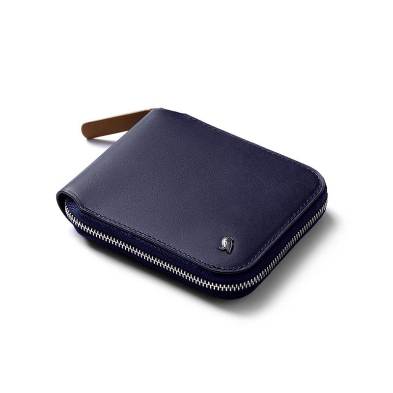 Buy Online Bellroy Zip Wallet - Navy | Benny's Boardroom