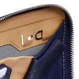 Buy Online Bellroy Zip Wallet - Navy SIM Card Storage | Benny's Boardroom