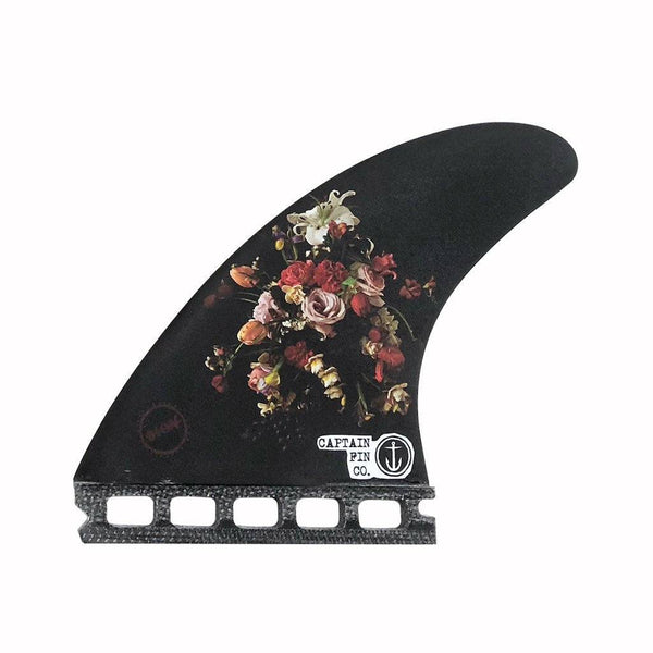 Buy Online Captain Fin Dion Agius Flowers (M) Thrusters - Black | Benny's Boardroom