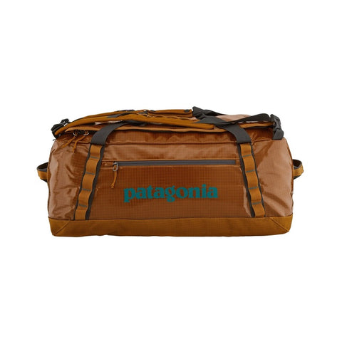 Shop Patagonia Black Hole Duffel Bag 55L - Hammonds Gold | Benny's Boardroom