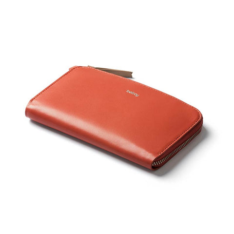 Buy the Bellroy Pocket Women's Wallet Online - Tangelo | Benny's Boardroom