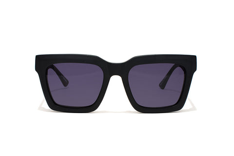 Shop Epokhe Boris Sunglasses - Black Gloss/Black Lens | Benny's Boardroom