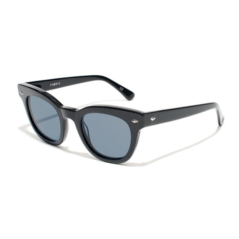 Buy Epokhe Dylan Sunglasses - Black Gloss/Blue Lens | Benny's Boardroom