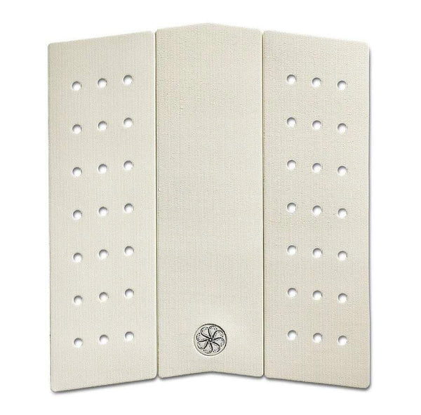 Shop Octopus Front Deck II Corduroy Grip Traction Pad Online - Cream | Benny's Boardroom
