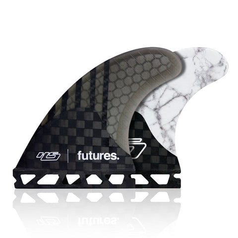 Buy Futures Fins V2 Haydenshapes Gen Series HS2 Medium Thrusters - White Marble Online | Benny's Boardroom