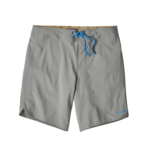 Shop Patagonia Men's Light and Variable Boardshorts - 18 in. - Feather Grey | Benny's Boardroom