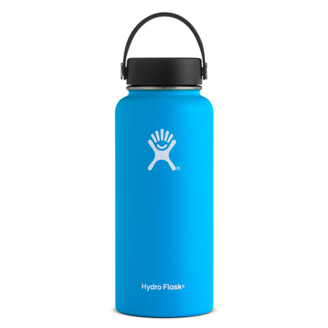 Shop Hydro Flask 950ml Wide Mouth Reusable Water Bottle - Pacific | Benny's Boardroom