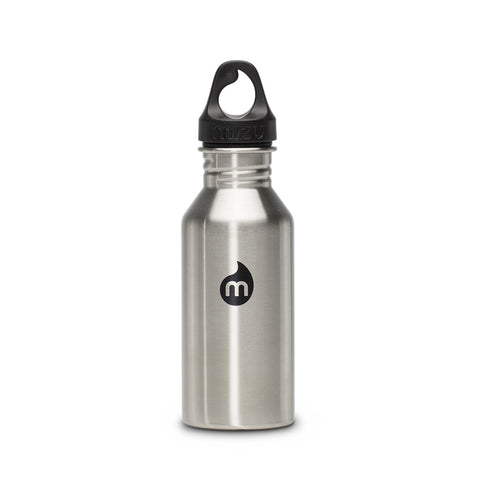 Shop Mizu M4 Steel Water Bottle - Stainless 400ml | Benny's Boardroom