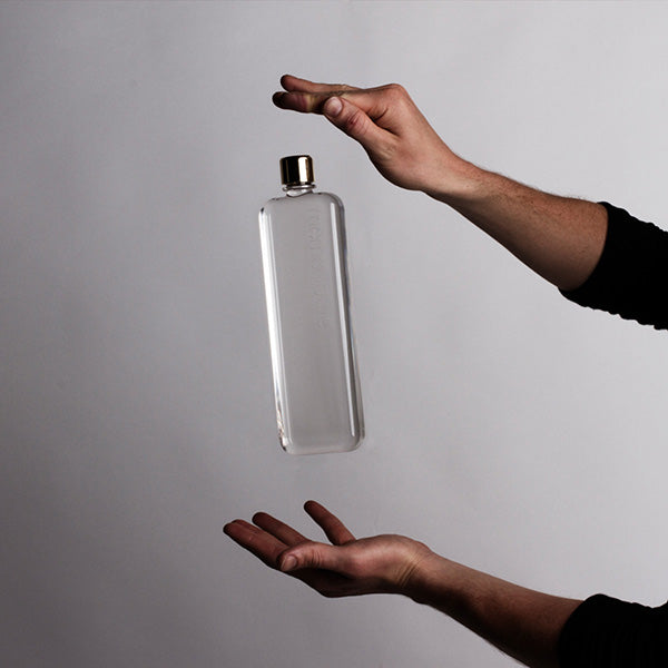 Buy Memobottle Slim Reusable 450ml Water Bottle | Benny's Boardroom