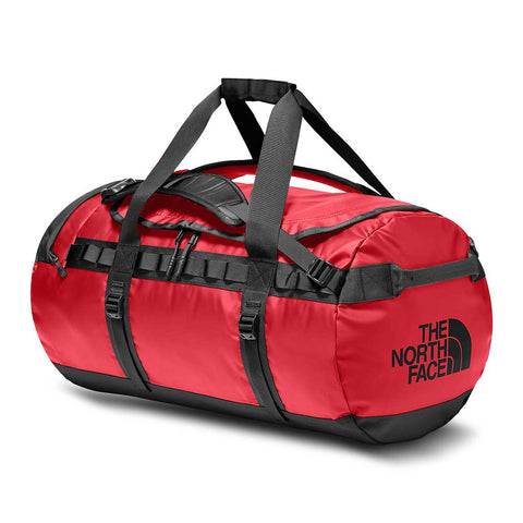 Shop The North Face Base Camp Duffel Bag 71L (M) - TNF Red/TNF Black | Benny's Boardroom