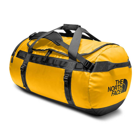 Shop The North Face Base Camp Duffel Bag 95L (L) - Summit Gold/TNF Black | Benny's Boardroom