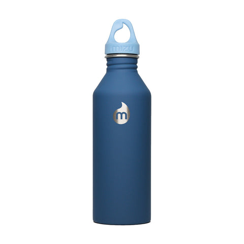 Shop Mizu M8 Steel Water Bottle - Soft Touch Blue 800ml | Benny's Boardroom