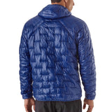 Shop Patagonia Men's Micro Puff Hoody - Model Back | Benny's Boardroom