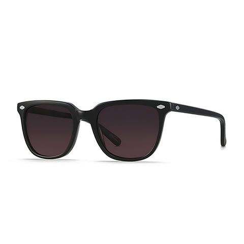 Shop RAEN Arlo Sunglasses -  Black/Dark Rose Lens | Benny's Boardroom